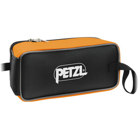 Petzl Fakir Crampon Bag, orange/black